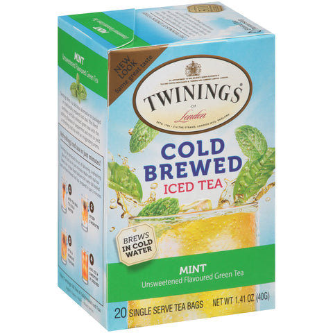 Green Tea with Mint Cold Brewed 6/20ct, case