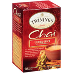 Ultra Spice Chai 6/20ct, case