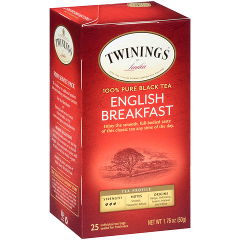 English Breakfast 6/25ct, case