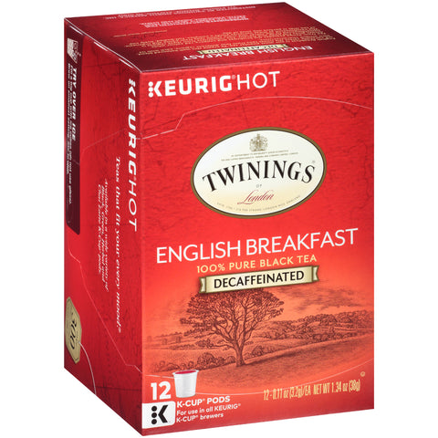 Decaffeinated English Breakfast 6/12ct. K-Cup® Pods, case