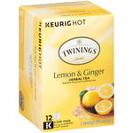 Lemon & Ginger 6/12ct. K-Cup® Pods, case