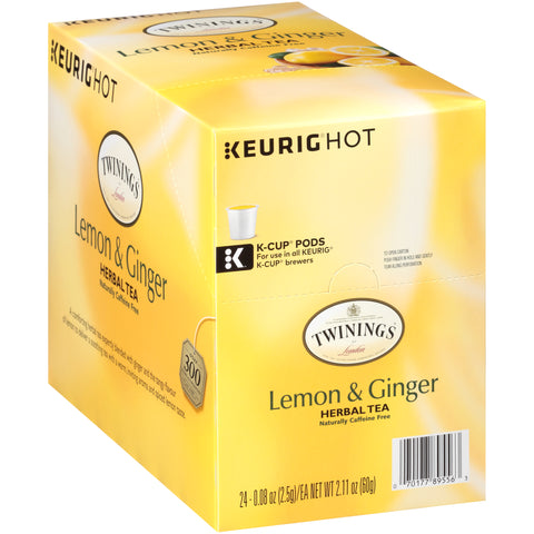 [FS] Lemon & Ginger 4/24ct. K-Cup® Pods, case