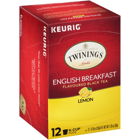 English Breakfast Lemon 6/12ct. K-Cup® Pods, case