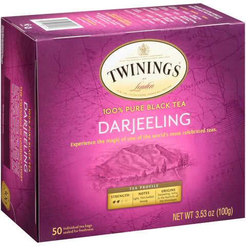 Darjeeling 6/50ct, case