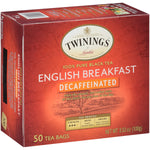 Decaffeinated English Breakfast 6/50ct, case