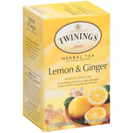 Lemon & Ginger 6/20ct, case