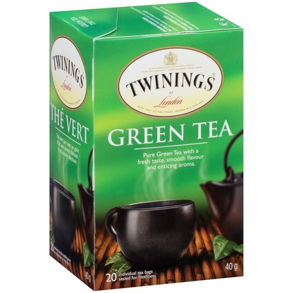 Green Tea 6/20ct, case
