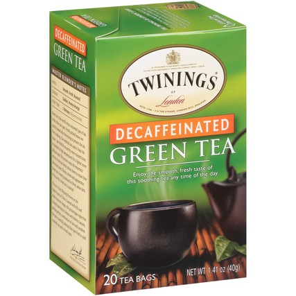 Green Tea Decaf 6/20ct, case