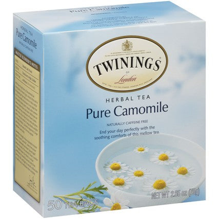 Pure Camomile 6/50ct, case