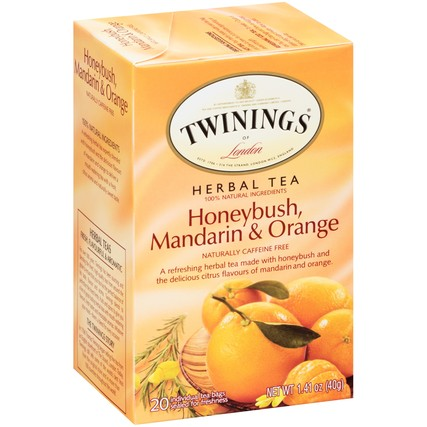 Honeybush, Mandarin & Orange 6/20ct, case