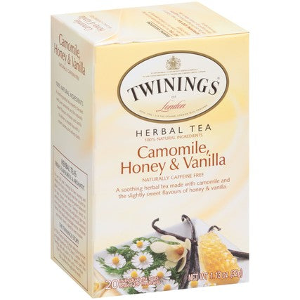 Camomile, Honey & Vanilla 6/20ct, case