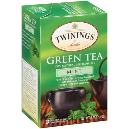 Green Tea with Mint 6/20ct, case