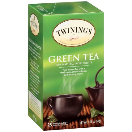 Green Tea 6/25ct, case