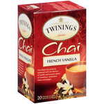 French Vanilla Chai 6/20ct, case