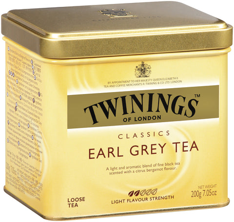 Earl Grey Loose Tea 6/200g tin, case