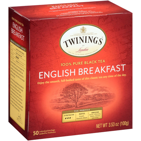 English Breakfast 6/50ct, case