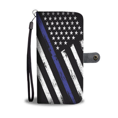 Thin Blue Line Wallet Case