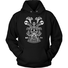 Samurai Skull - Red Rocket Brand
