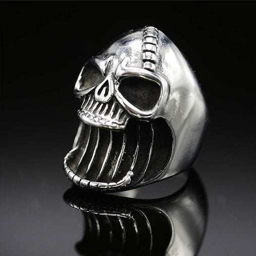 Bottle Opener Skull Ring