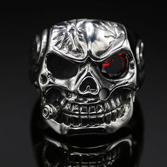 Smoking Skull Ring