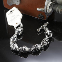 Shining Skull Bracelet - Red Rocket Brand