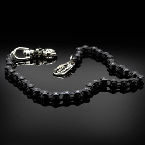 "Bike Chain Wallet Chain 18""- Black"