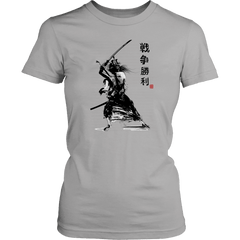 Samurai With Sword - Red Rocket Brand