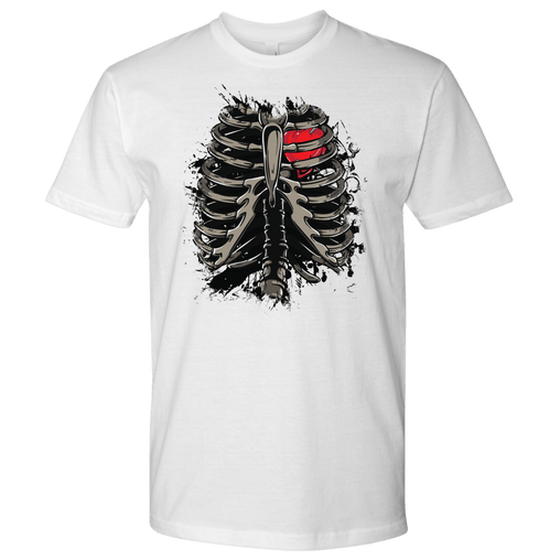 Heart Inside Ribs Biker Shirt