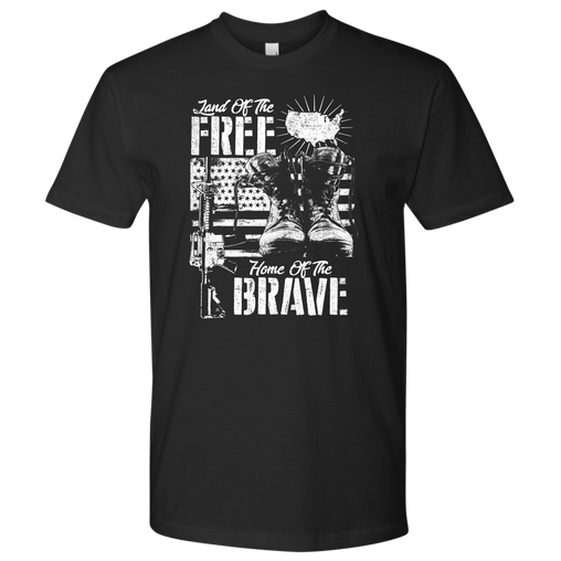 Home of The Brave - bw