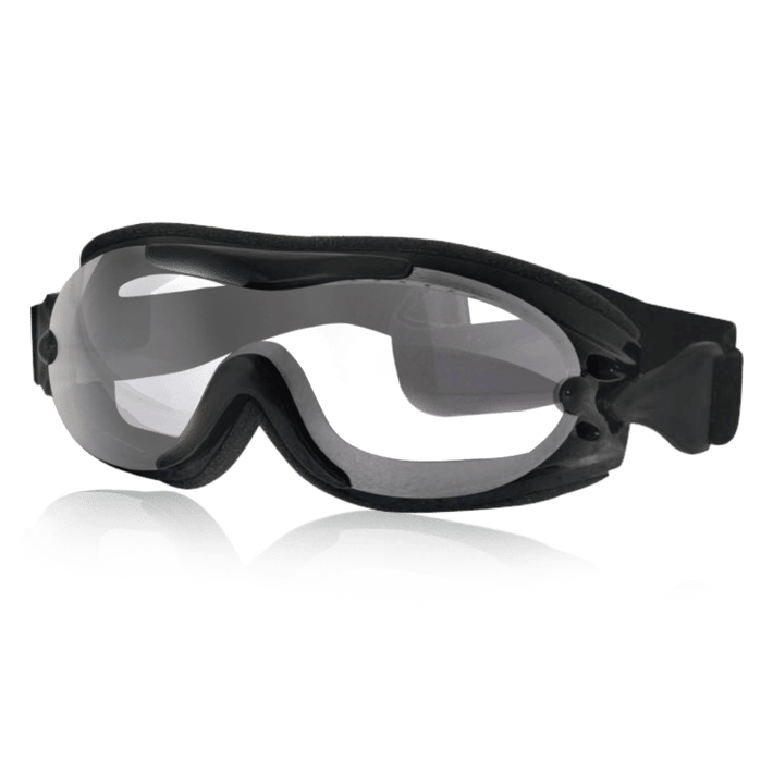 FIT OVER GOGGLES - CLEAR - Red Rocket Brand