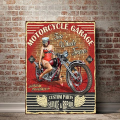 MC Garage - Red Rocket Brand