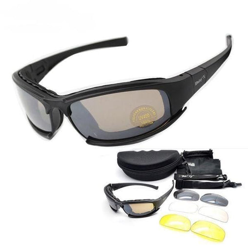 Biker Motorcycle Military Sunglasses
