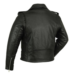 Men's Premium Classic Plain Side Police Style Jacket - Red Rocket Brand