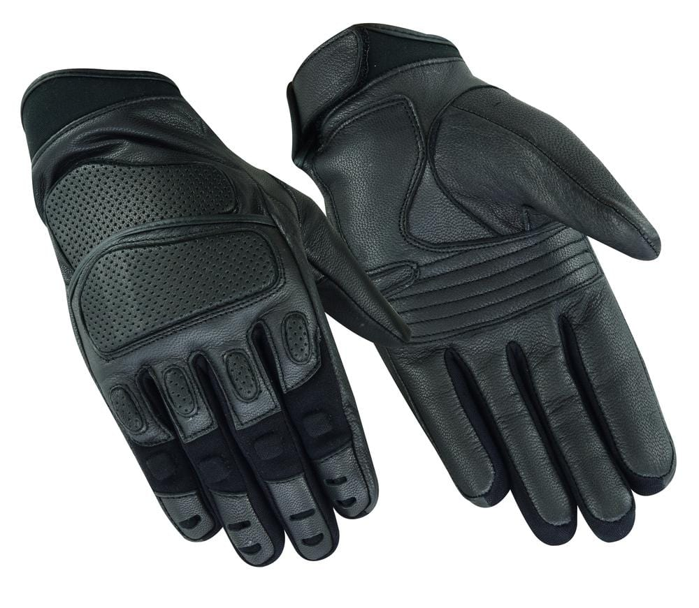 Heavy Duty Leather Sporty Glove - Red Rocket Brand