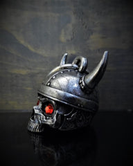 Viking Helmet Skull Diamond Bell - Red Rocket Brand