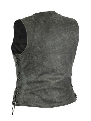 Women's Gray Single Back Panel Concealed Carry Vest - Red Rocket Brand