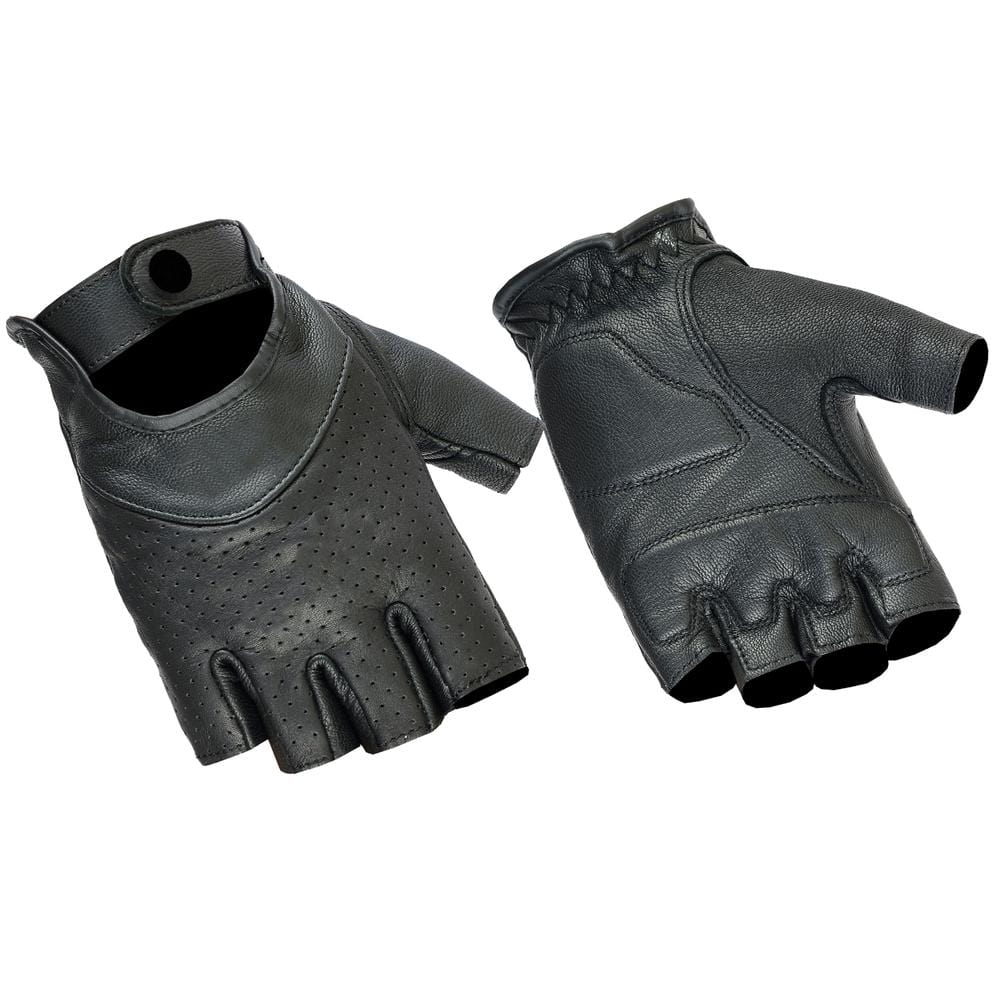 Women's Perforated Fingerless Glove - Red Rocket Brand