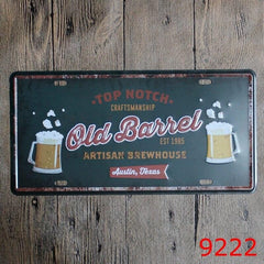 Beer Tin Signs - Red Rocket Brand