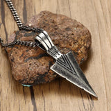 Arrowhead Necklace Stainless Steel