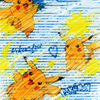 "Pokemon ""Pikachu Doodles"""