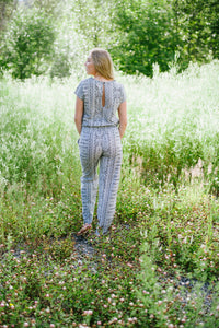 Long Jumpsuit Black & White