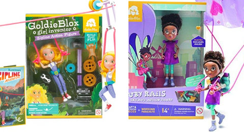goldie blox ruby rails sets top holiday purchases for toddler girls