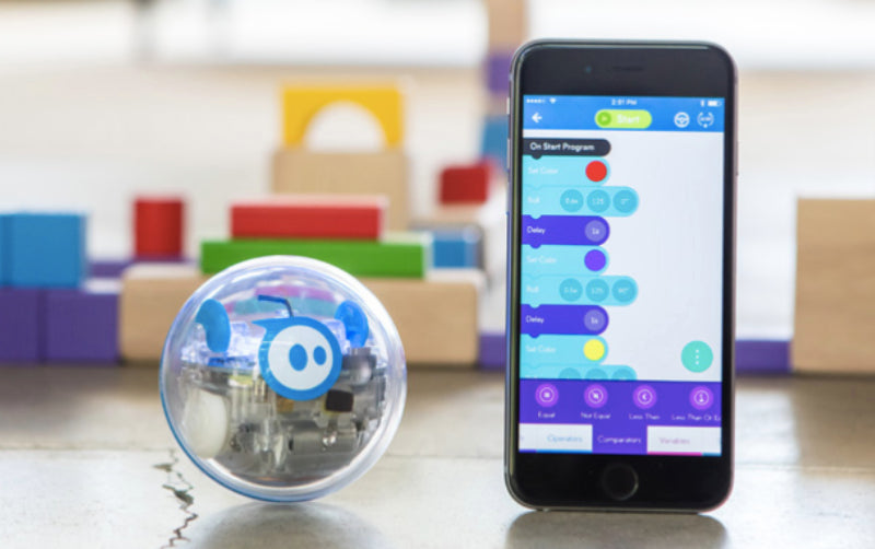 SPRK sphero top learning robot girls robotics with coding app product shot