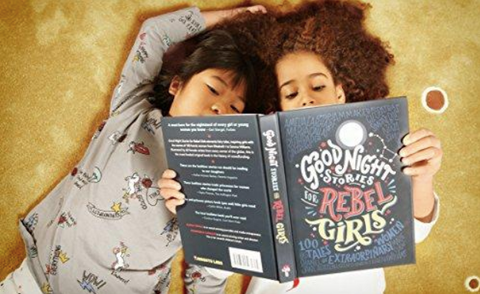 Goodnight stories for rebel girls 2 girls reading top gift for girls 2018