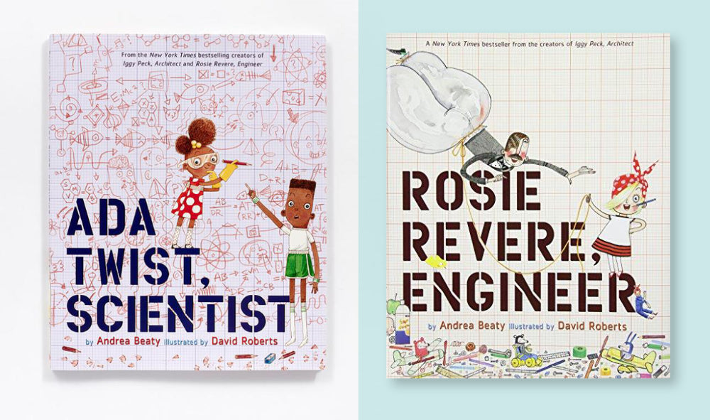 ada twist scientist and rosie revere engineer book covers
