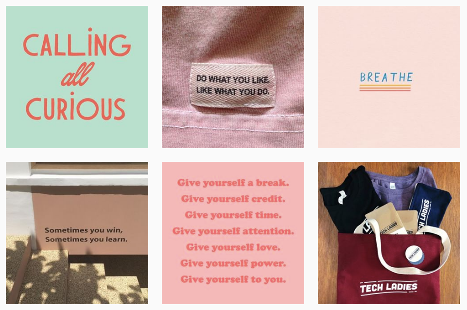 tech ladies a top instagram account for empowering girls in STEM