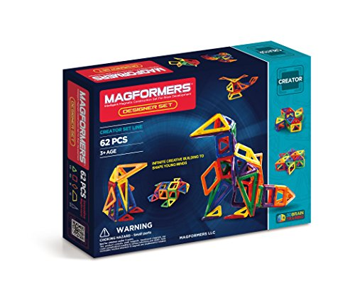 Build It: Magformers 62 Construction Set