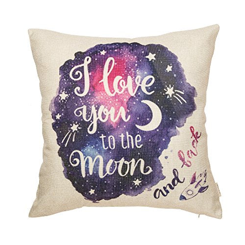 To the Moon & Back Pillowcase