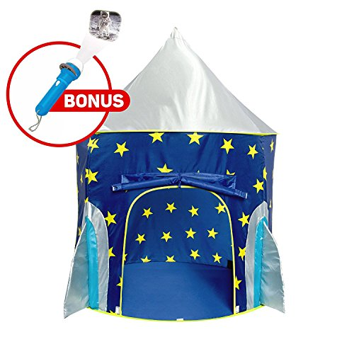 Magical Rocket Ship Tent