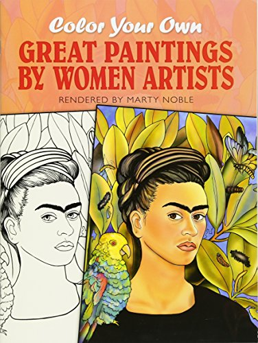 Great Paintings by Women Artists - Coloring Book